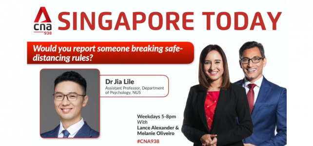 Singapore Today – Would you report someone breaking safe-distancing rules?